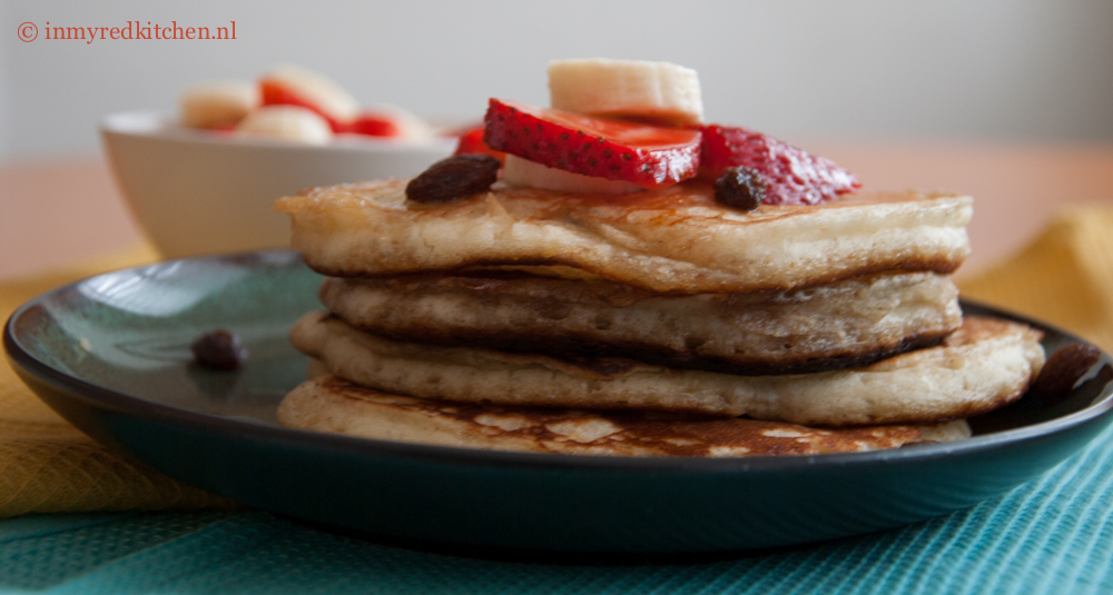 ontbijt amerika wafels