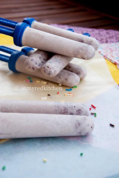 Rode bonen ijsjes p