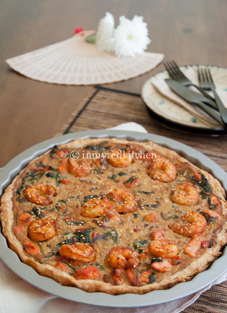pizza met zalm