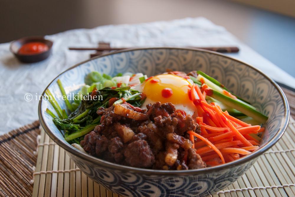 Bibimbap – Koreaans rijstgerecht