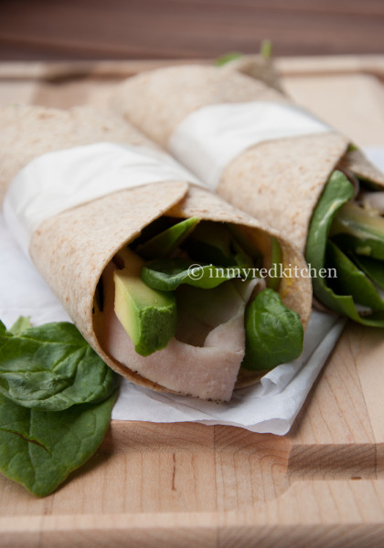 Turkey wraps p