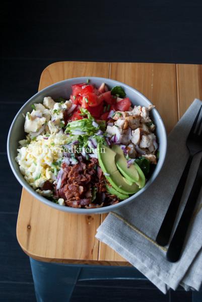Cobb salad p