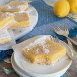 Simple lemon bars, refreshing dessert treat! | in my Red Kitchen #lemon #pie #lemonbars